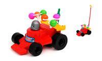 """Дет. каталка с ручкой """"Дет. машина гоночная"""" с шариками"""