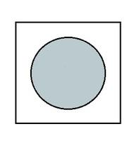 Краска для сборных моделей - Серебрянная (метал.)