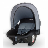 """Автомобиль детскийное детское кресло""""Baby Ride FST"""" (цвет noir/gris fonce), группа 0+ (0 - 13 кг)"""