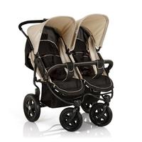 Дет. коляска для двоих детей Roadster Duo (цвет caviar/almond)