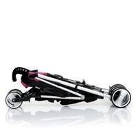 Дет. коляска-трость Spirit (цвет caviar/berry)