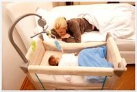 Манеж детский-кроватка для новорожденных Dream'n Care Сenter (цвет bear)