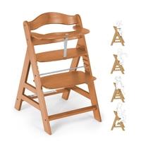 Детский стульчик для кормления Alpha (цвет caramell)