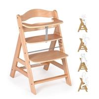 Детский стульчик для кормления Alpha (цвет natural)