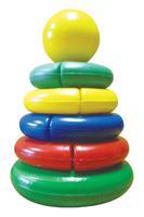 "Дет. игрушечная пирамидка ""Логика"" мини (шар)"