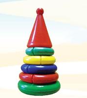 "Дет. игрушечная пирамидка ""Логика"" мини (конус)"
